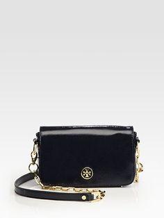 Tory Burch - Robinson Mini Patent Leather Shoulder Bag