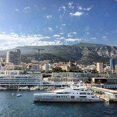 #PortHercule Сказочно красиво!)❤️ #Montecarlo #Monaco #France by bantichek from #Montecarlo #Monaco