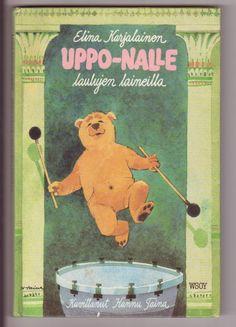 Uppo-Nalle laulujen laineilla - 9e Terry Pratchett, Fairy Tales, Baseball Cards, Sports, Books, Hs Sports, Livros, Libros, Excercise