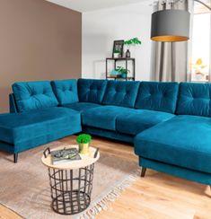 scandi canapé d'angle panoramique fixe bleu turquoise bobochic paris table basse corbeille metal parquet bois clair mur de couleur marron grand lampadaire de salon décoration intérieure design chic #scandi #canapédanglepanoramique #canapéfixe #bleu #turquoise #blue #couch #bobochic #paris #tablebassecorbeille #tabledappointmetal #parquetboisclair #murdecouleur #marron #brown #grandlampadaire #salon #livingroom #décoration #intérieure #interior #design #chic #homedesign #homedecor…