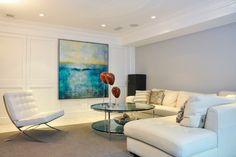 Suburban DC - Cahill Residence - contemporary - living room - dc metro - CM Glover