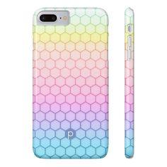 Rainbow Honeycomb Phone Case