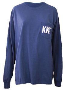 Kappa Kappa Gamma True Gentlemen Long Sleeve by Adam Block Design | Custom Greek Apparel & Sorority Clothes | www.adamblockdesign.com