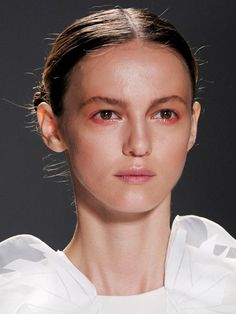Rucci Spring 2013 Bright Eye Shadow Makeup Trend - New York Fashion Week Spring 2013 Makeup Trends - Real Beauty