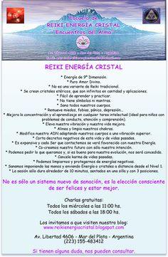 Caracteristicas del Reiki Energía Cristal.