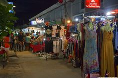 Lamai Night Market - Night Markets in Thailand. The market opens at around 4:00pm and closes after midnight and,  for nervous diners, there's a great choice of international cuisine  as well as the fiery hot Southern Thai curries. http://www.thailandholidayhomes.com/koh-samui/attractions/lamai-night-market.html