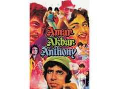 The 100 best Bollywood movies, Amar Akbar Anthony Bollywood Movies List, Bollywood Songs, Bollywood Actress, Amar Akbar Anthony, Vinod Khanna, Hits Movie, Amitabh Bachchan, Indian Movies, Movie List