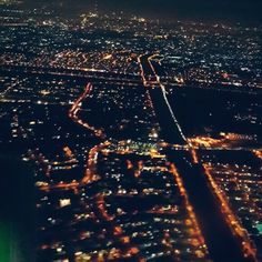 Jakarta from the airplane