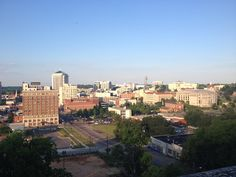 View of downtown #montgomery #abandonedbuilding