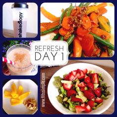 Day 1 Meal for the 3 Day Refresh! www.beachbodycoach.com/kristirose2003