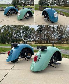 Mini Motorbike, Mini Bike, Motorcycle Bike, Custom Bikes, Custom Cars, Drift Trike, Campervan Interior, Pedal Cars, Small Cars
