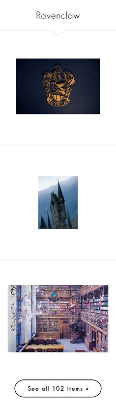 """""""Ravenclaw"""" by hannah-grace ❤ liked on Polyvore featuring harry potter, pictures, hogwarts, ravenclaw, backgrounds, blue, image, photos, people and luna lovegood"""