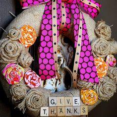 DIY Thanksgiving Wreaths - Easy Thanksgiving Decorations - Good Housekeeping