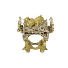 """York"" Dog Jewelry, Jewelry Rings, Jewelry Accessories, Jewellery, Black Diamond, Different Styles, Sapphire, Gems, Carving"