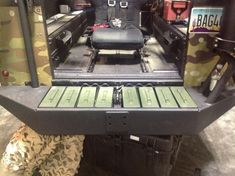 20130515-112007.jpg Bumper that holds ammo boxes, you can never have enough ammo.
