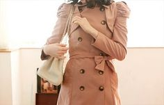 pink trench from Queen's Wardobe Cost €150