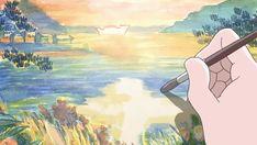 New post on stimmystuffs Sky Anime, Manga Anime, Anime Art, Aesthetic Drawing, Aesthetic Gif, Wattpad, World Movies, Ghibli Movies, Anime Gifts