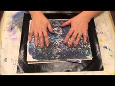 DIY Texture Plate for Gelli Printing Craft Hack