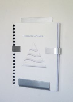 Sleek, modern and minimal, show more of your literature and less holder! Designed to hold larger documents, this wall holder will support 8.5 x 11