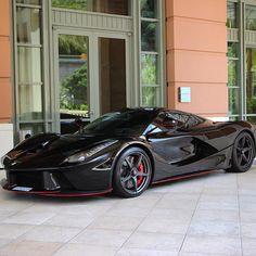 "Ferrari_Motorsport on Instagram: ""Black LaFerrari Follow @ferrari.automobili @ferrari.automobili @ferrari.automobili @ferrari.automobili - Credit @paul1lacour"""