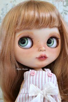 OOAK Custom Blythe Art Doll Skořice 64 továrna