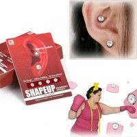 Huimeeting Lose Weight Earring Slimming Products for Lady Magnetic Slimming Earring   Features:  Can
