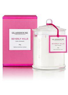 Glasshouse Beverley Hills Pink Lemonade Candle