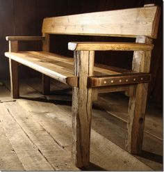 Reclaimed Wood Furniture - this would look ace in our hallway