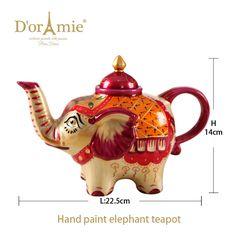 wholesale elephant teapot indian wedding favors Coffee Shop Design, Cup Design, Elephant Teapot, Old Globe, Indian Wedding Favors, Espresso Coffee Machine, Oolong Tea, Mechanical Design, Coffee Cups