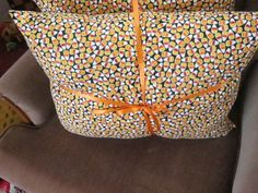 Candy Corn Print Pillow by 12dozen on Etsy
