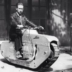 Now THAT is a manly motorcycle! : funny