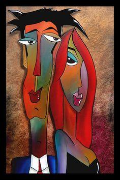 Couples (art décoratif) Poster sur AllPosters.fr