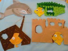 Three Little Fishes and the Big Bad Shark from Itsy Bitsy Mom