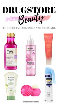 Our picks for the best in drugstore hair, body and skincare in 2019. #HairRemovalDiy Beauty And The Best, All Things Beauty, Good Things, Shea Butter Shampoo, Permanent Facial Hair Removal, Drugstore Skincare, Skincare Routine, Best Drugstore Products, Viajes