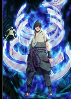 Sasuke is lost in the darkness  Naruto 463 - Susanoo by belucEn.deviantart.com on @deviantART