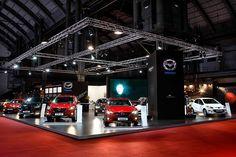 Stand de Mazda realizado por Auriga para la feria de Barcelona 2013. @Auriga Cool Mkt.   Facebook: AurigaCoolMarketing