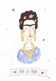 Viva La Frida print - Babasouk