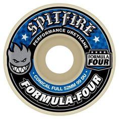 Spitfire Formula Four Conical Full Wheels 58MM 99DU