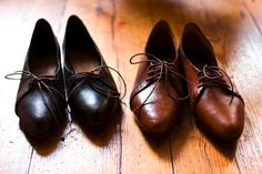 Handmade leather shoes!