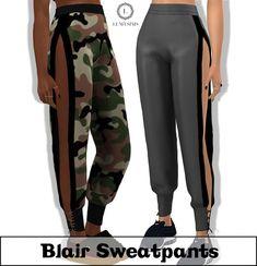 Blair Sweatpants at Lumy Sims • Sims 4 Updates