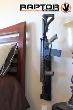 Fast Access Home Defense Gun Mounting System