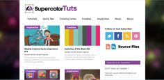 supercolortuts  very nice illustrator and photoshop tutorial-page....... check out