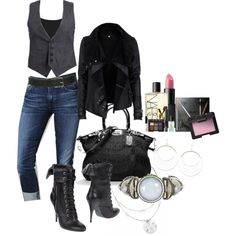 """""""Yeah, I'd Rock That"""" by deborah-simmons on Polyvore"""