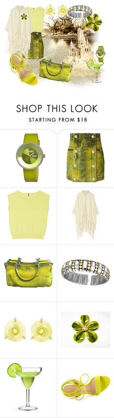 """""""Margarita In Hand, Walking In Sand, Playing In Polyvore Land... How To save Green On Professional Therapy"""" by sharee64 ❤ liked on Polyvore featuring Crayo, Balmain, Apiece Apart, Coach, John Hardy and ALDO"""