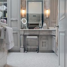 Transitional, bathroom, A Cook's Room