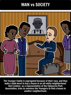 the conflicts in lorraine hansberrys play a raisin in the sun This define my own destiny: using arrested development and lauryn hill to teach  conflicts, and themes of lorraine hansberry's play, a raisin in the sun.
