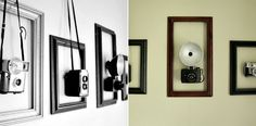 Ways To Display Vintage Cameras - Yahoo Image Search Results