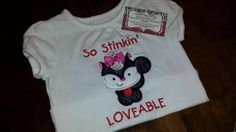 So Stinkin Loveable ShirtFREE SHIPPING by SouthernBlingBowtiqu, $23.00