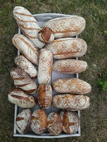 Truhlice: Podmáslový kváskový chléb - recept Food And Drink, Bread, Vegetables, Brot, Vegetable Recipes, Baking, Breads, Buns, Veggies
