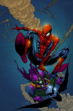 Spiderman by AlonsoEspinoza on DeviantArt